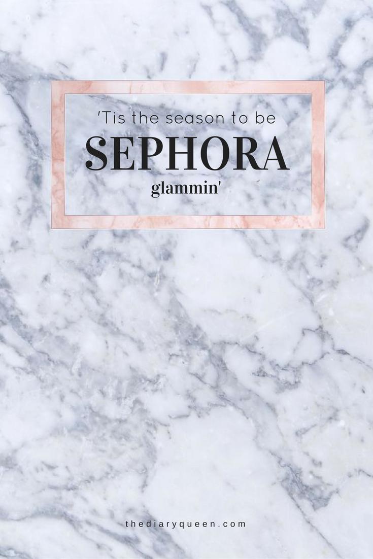 'Tis the season to be SEPHORA glammin'
