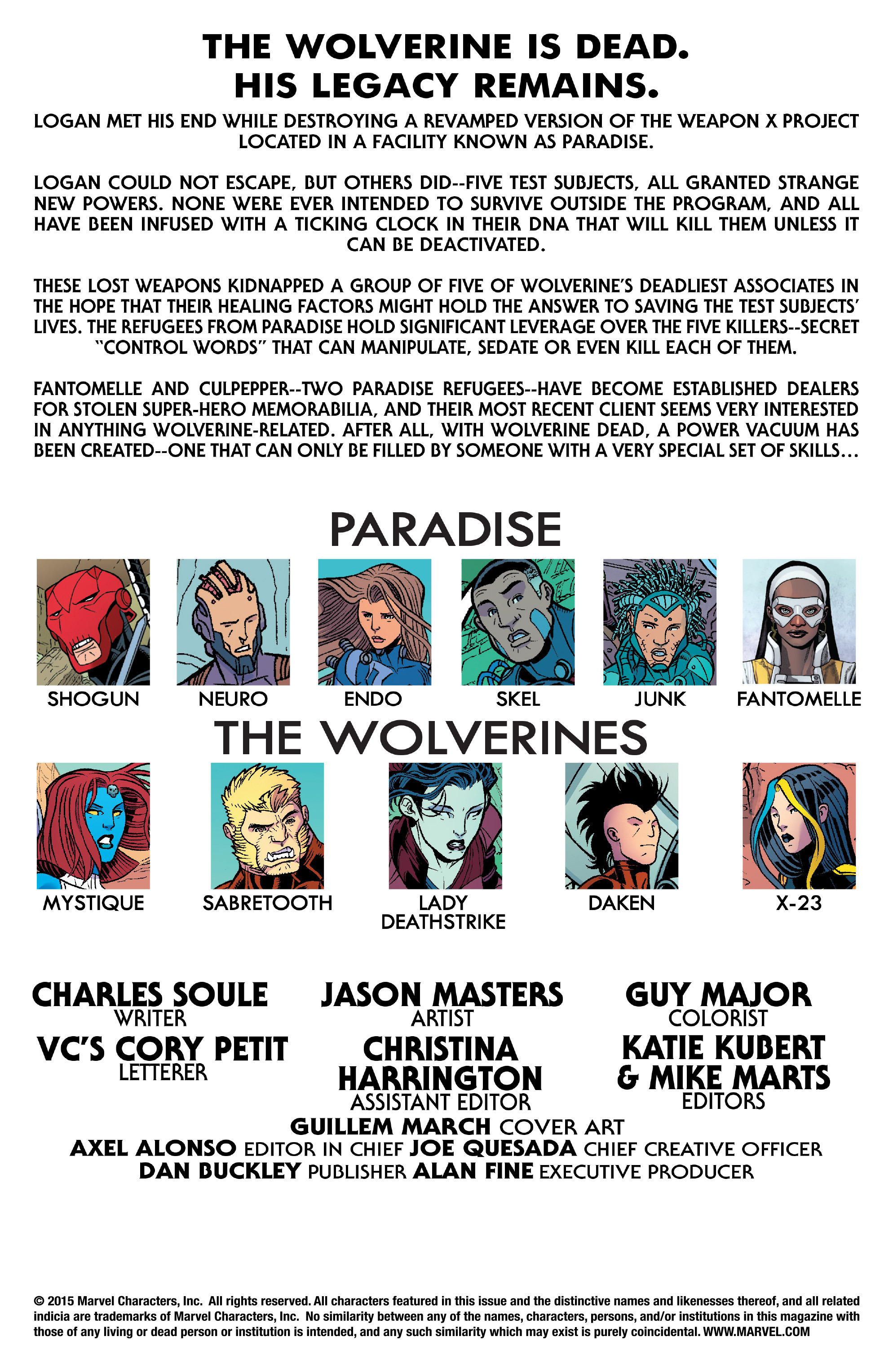Read online Wolverines comic -  Issue #13 - 2