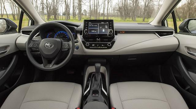 Novo Corollla 2020 - interior - painel