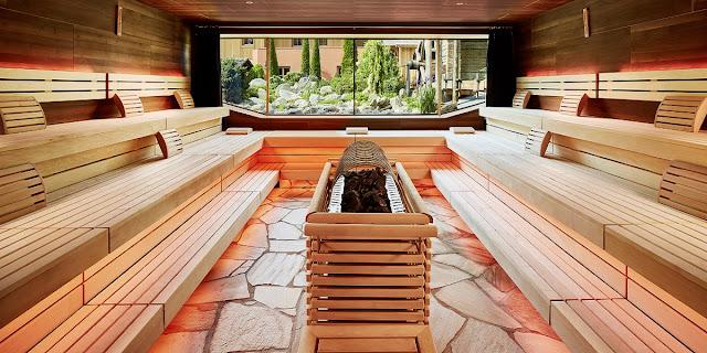 infinity sauna