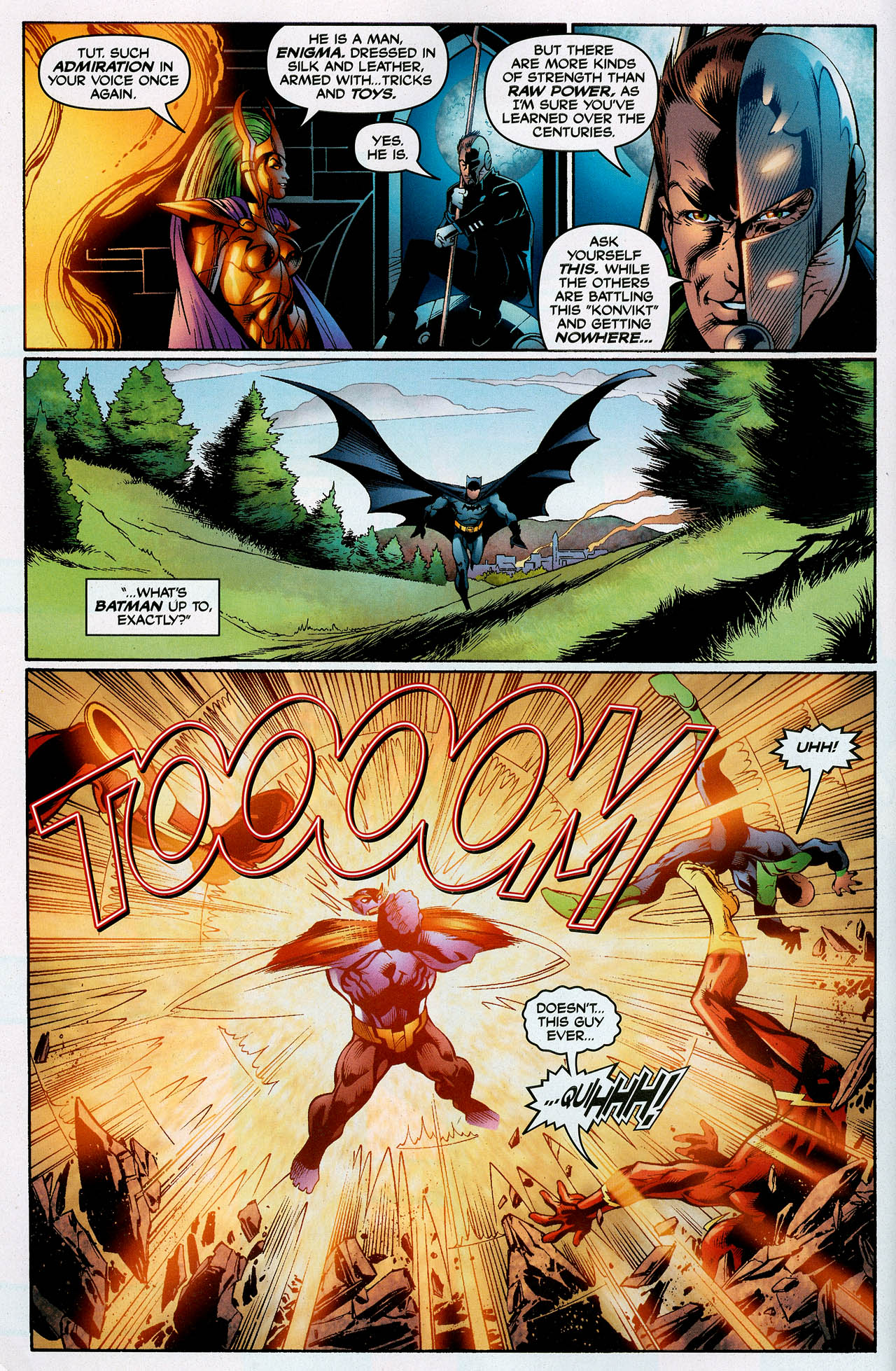 Read online Trinity (2008) comic -  Issue #4 - 10