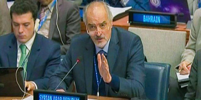 """Σύριος πρέσβης στον ΟΗΕ: """"Ο Σιωνισμός είναι όπλο μαζικής καταστροφής"""""""