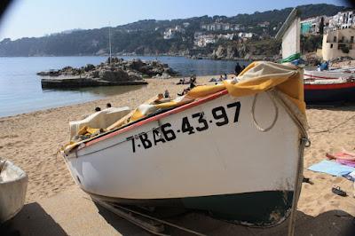 Calella de Palafrugell beach in Costa Brava