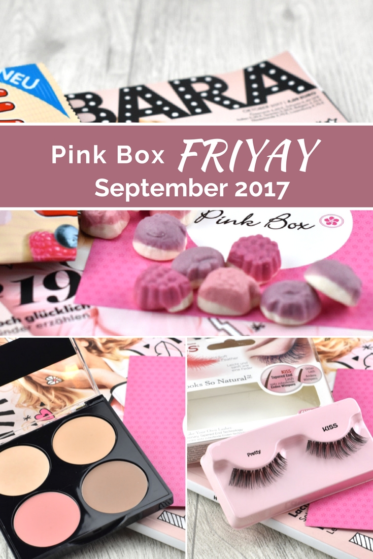 Pink Box FRIYAY - September 2017 - Unboxing und Inhalt