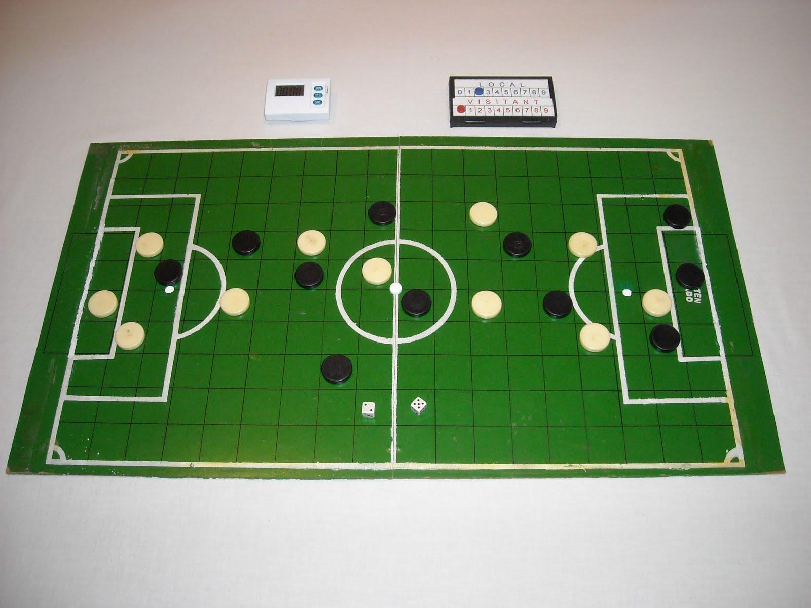 Futbol Fusion Estilos De Futbol De Mesa Futbol De Dados
