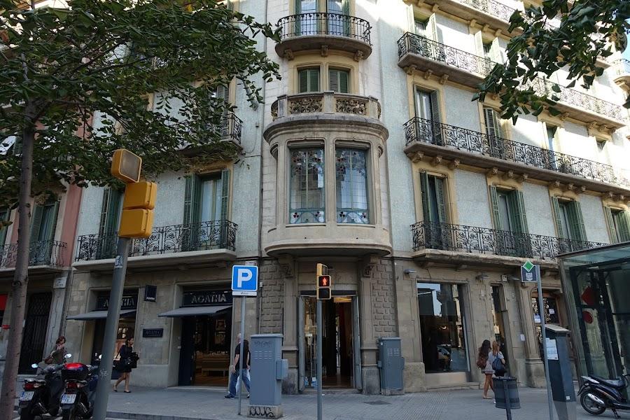 カタルーニャ通り(Rambla de Catalunya)
