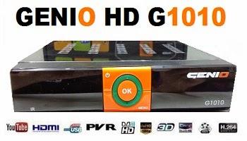 GENIO G-1010 NOVA ATUALIZAÇÃO - 04/05/17
