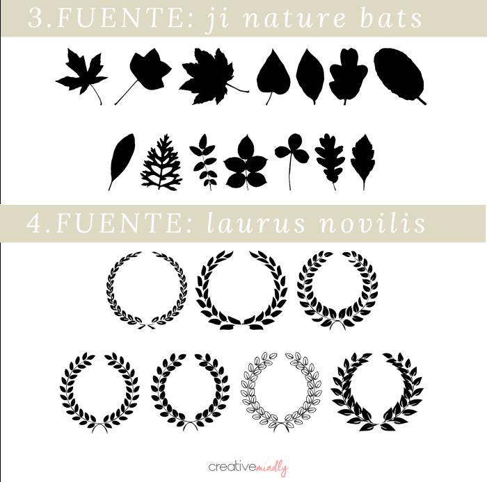 dingbats bonitos tipografias imagenes