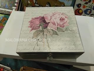 Pudełka w różyczki i inne przepiękne wzory dostępne….
