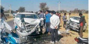 चला: कार भिड़ंत में पिता- पुत्री सहित तीन लाेग घायल