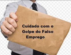 Golpe do emprego falso
