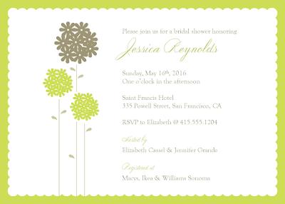Bridal Shower Invitations Target