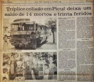 RETROSPECTIVA: Maior tragédia do Seridó Paraibano completa 29 anos