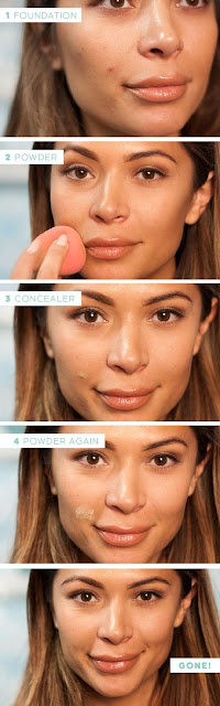 Cara Menutupi Jerawat dan Bekasnya dengan Make up