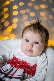 Infant portrait during Christmas Mini Ideas for San Diego California Photographers by Morning Old Fine Art