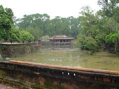 Imperial tomba dell'imperatore Tu Duc in Hue - Vietnam