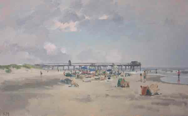Kurt Moyer Paintings: November 2015