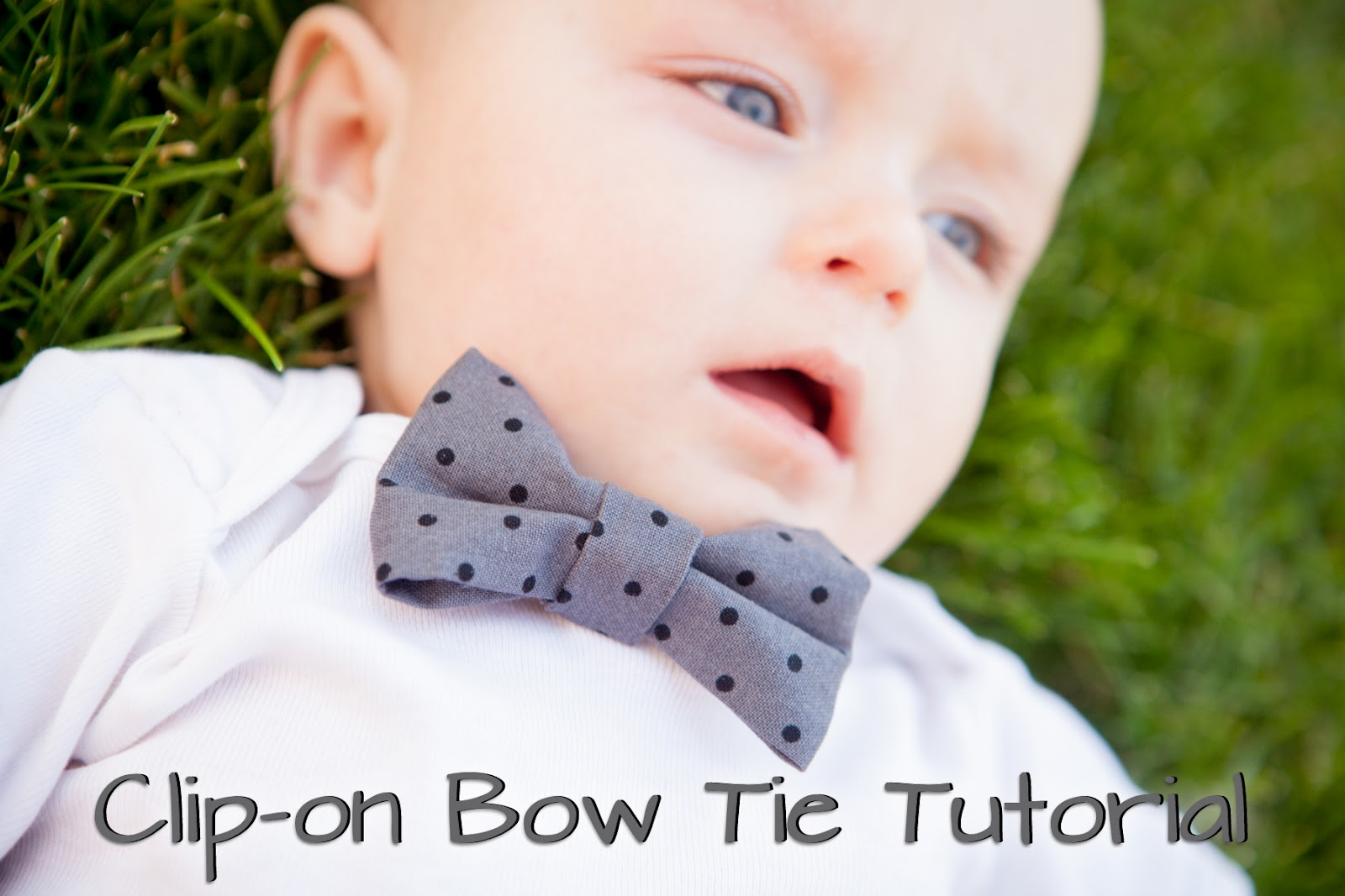 968c96e840d4 I love bow ties on little boys. The nice thing about bow ties is that they  are really easy to make. You pretty much just need to know how to sew in ...