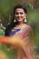 Actress Shraddha Srinath in Purple Chania Choli Cute Pics ~  Exclusive 24.jpg