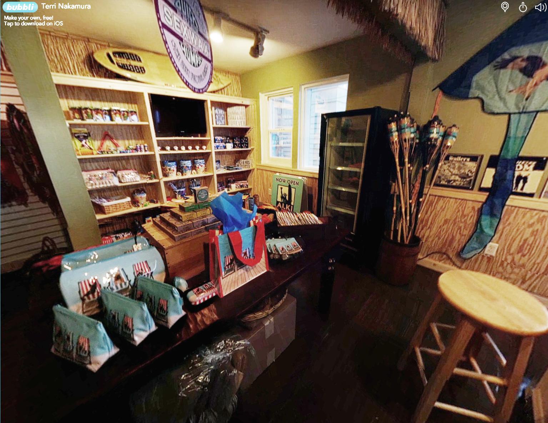 Image link for 360 Tour Alki Surf Shop