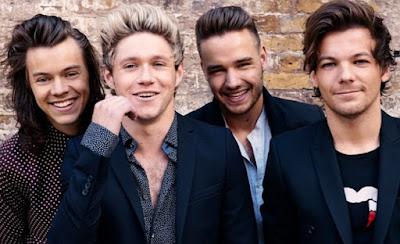 One Direction Penyanyi Dengan Gaji Tertinggi di Dunia