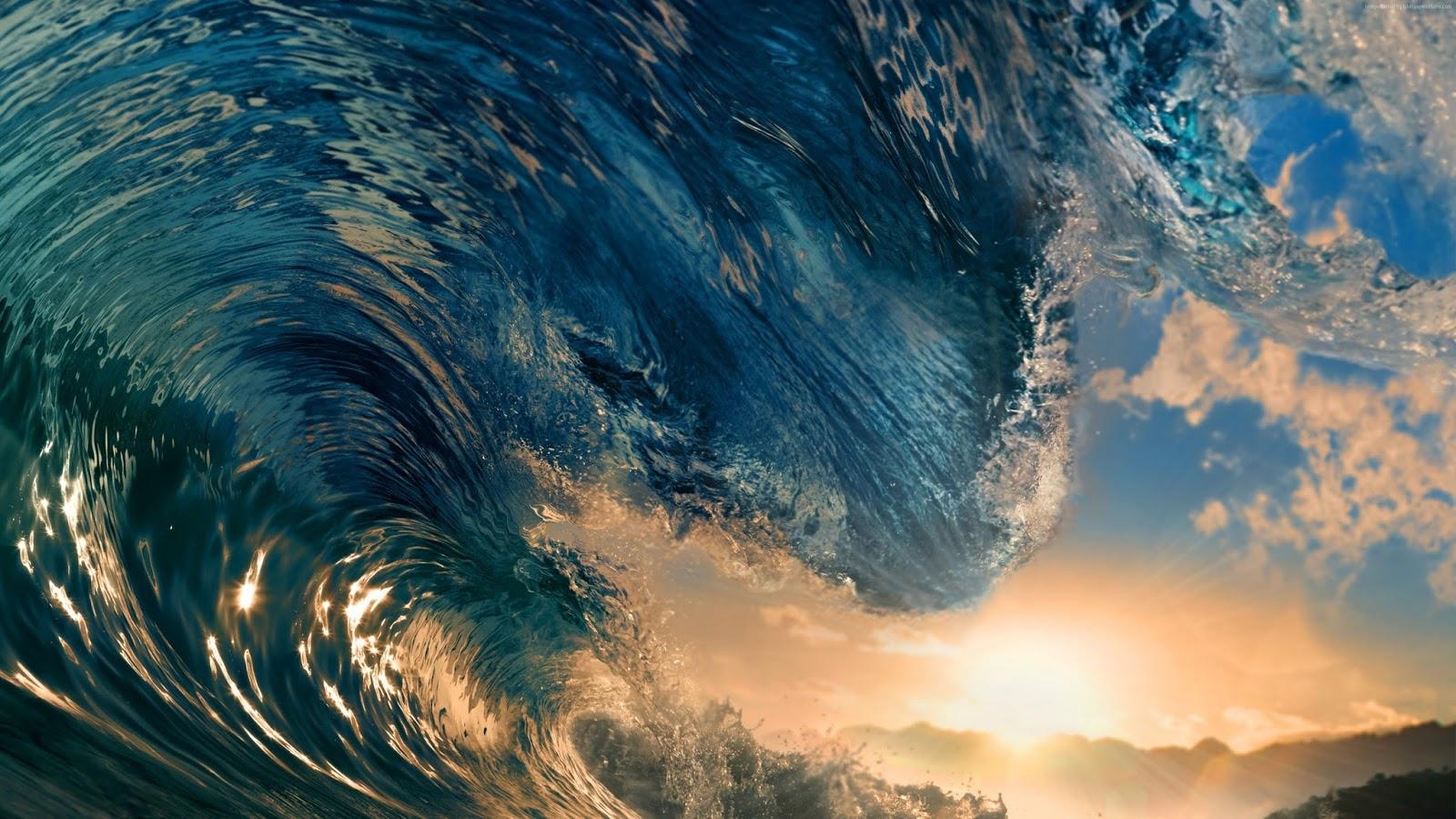 Waves Wallpaper 3840 x 2160