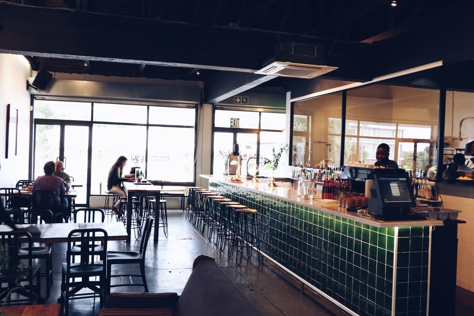 hipster coffee shop Johannesburg, copper garden fashion blogger