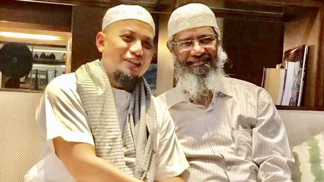 Bertemu Dengan Dr Zakir Naik, Ini Ungkapan Kegembiraan Dari Ustadz Arifin Ilham