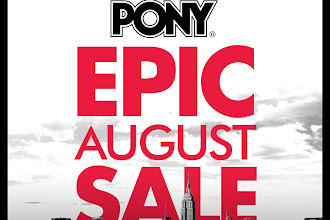 Kick Off with Fresh Sneakers - Pony Philippines August 2016 Sale