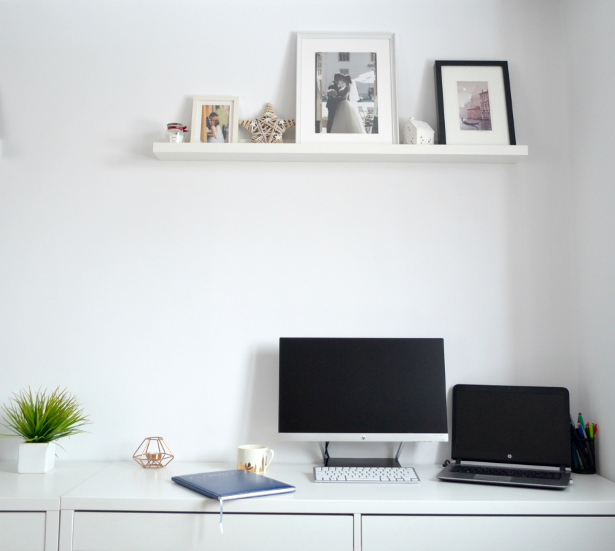 tips to decorate an at home office ikea minimalist desk