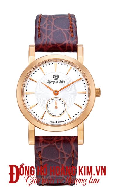 mua đồng hồ nữ olympia star