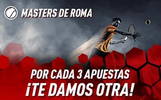 sportium Promo Masters de Roma 2019 : Cada 3 apuestas te damos 1