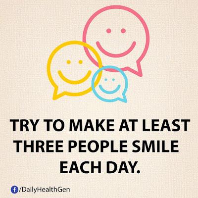 Cobalah Membuat Sedikitnya Tiga Orang Untuk Tersenyum Setiap Hari (Identitas.net)