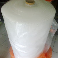 Plastik bubble wrap.