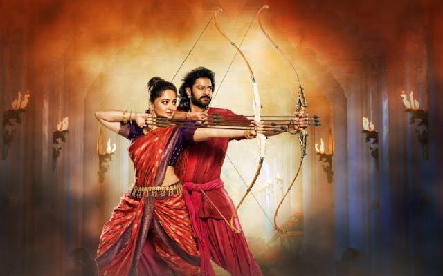 Prabhas and Anushka Shetty Bahubali 2 Awesome Scene HD Wallpapers