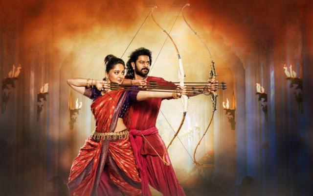Prabhas and Anushka Shetty Bahubali 2 Awesome Scene HD Wallpapers