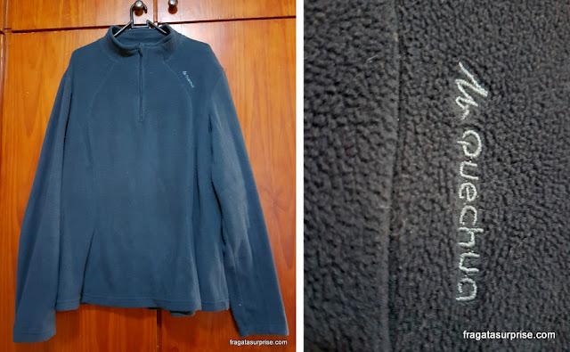 casaco de fleece