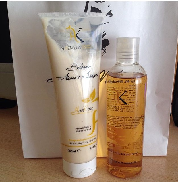 shampoo e balsamo alkemilla