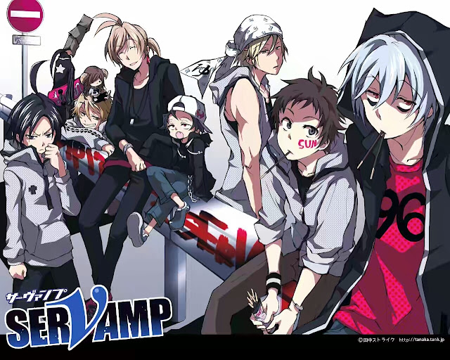 Servamp Rekomendasi Anime Summer 2016