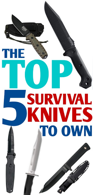 Top 5 Survival Knives!