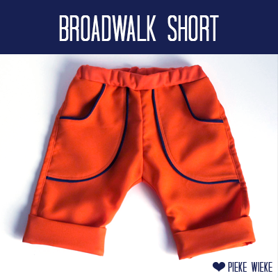 Broadwalk Short 'Home made minicouture""