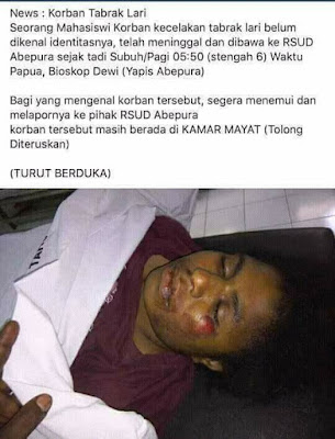 Berikut ini gambar situasi kekerasan militer kolonial Indonesia pada bulan Mei 2017 di Papua