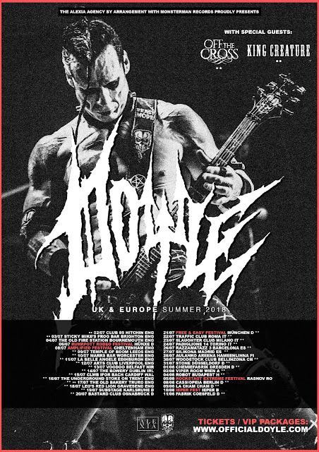 Doyle Summer 2018 Tour Poster