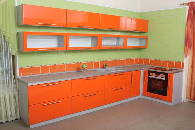 Фасады кухни пластик HPLе