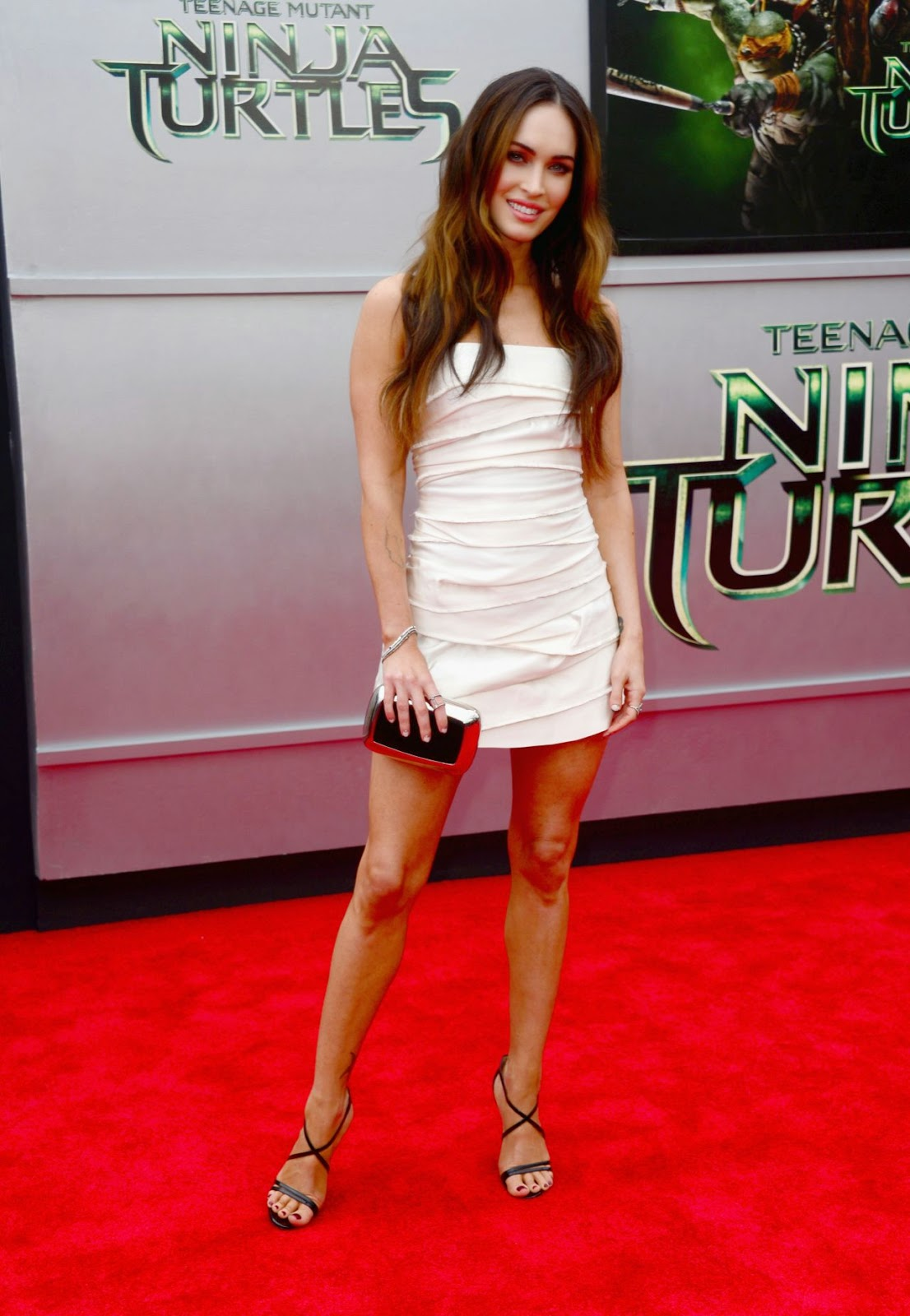 Megan Fox In A Marc Jacobs Mini Dress At The Teenage