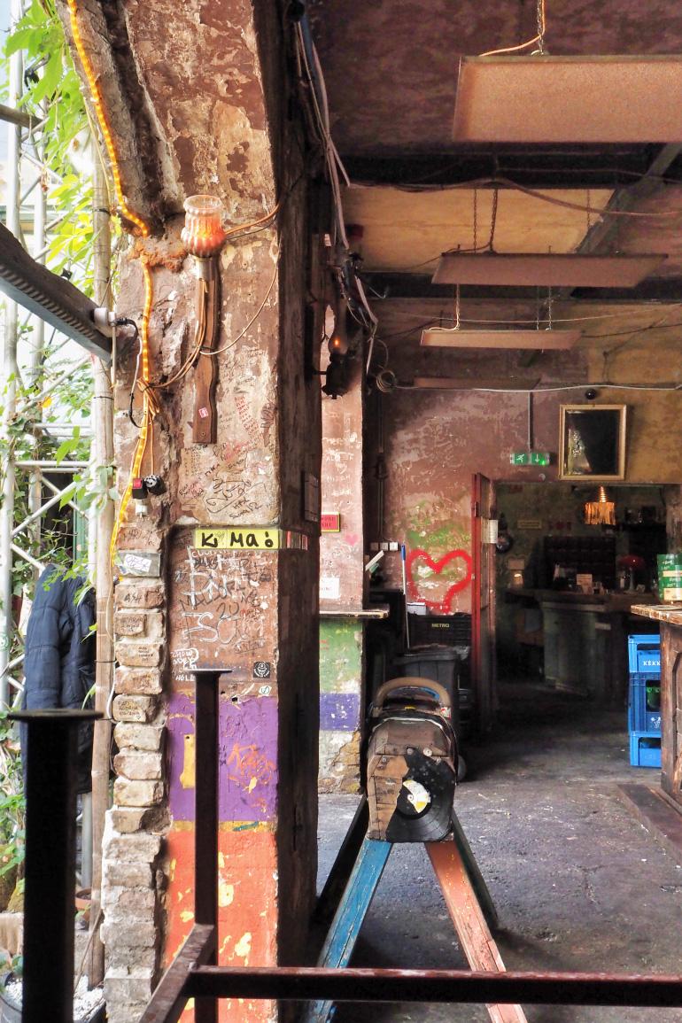 Ruin bar Szimpla Kert à Budapest