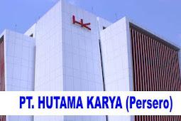 Lowongan Kerja BUMN PT Hutama Karya (HK) 2019