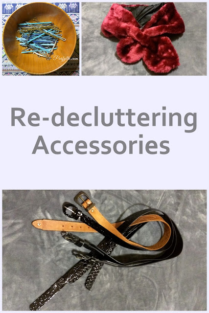 Re-decluttering accessories
