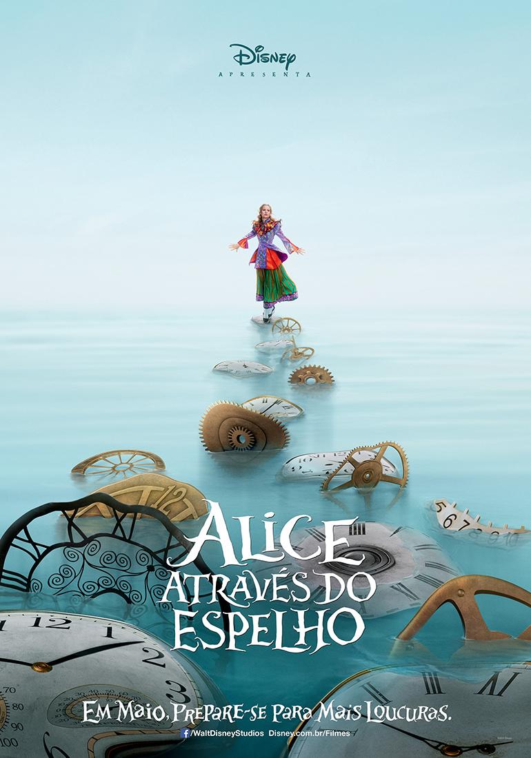 Alice Através do Espelho Dublado