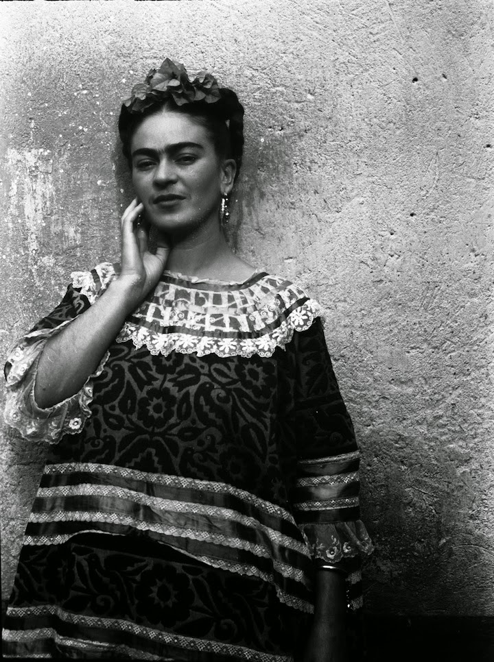 Frida kahlo by leo matiz 1946